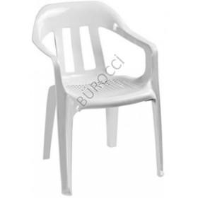 2137C-Bürocci Plastik Koltuk