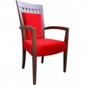 5096A-Bürocci Ahşap Sandalye