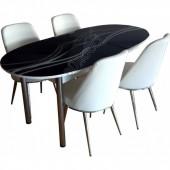 7998A-Bürocci Masa Sandalye Takımı