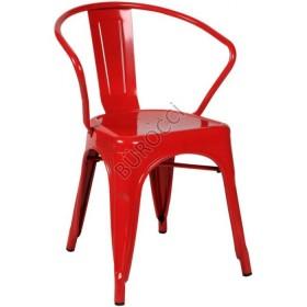 7030P-Bürocci Tolix Metal Sandalye