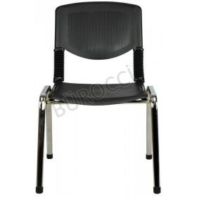 2066P-Bürocci Kromajlı Form Sandalye
