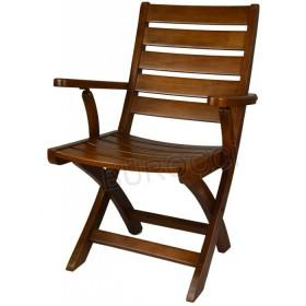 5102A-Bürocci Ahşap Katlanır Sandalye